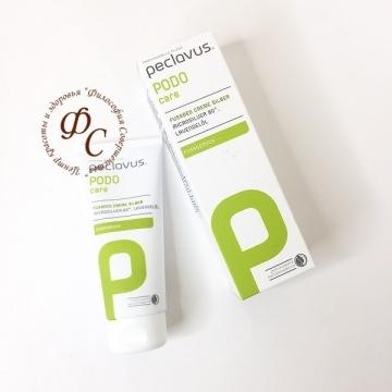 Крем дезодорант для ног с серебром PECLAVUS