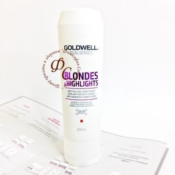 Кондиционер против желтизны для осветленных волос - GOLDWELL NEW DUALSENSES BLONDES@HIGHLIGHTS ANTI-YELLOW CONDITIONER