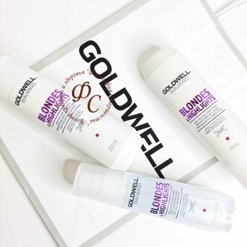 Сыворотка - спрей для блеска осветленных волос - GOLDWELL NEW DUALSENSES BLONDES HIGHLIGHTS BRILLIANCE SERUM SPRAY