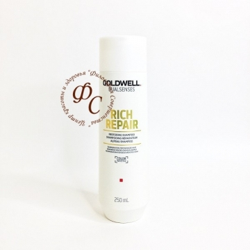 Восстанавливающий шампунь для поврежденных волос - GOLDWELL NEW DUALSENSES RICH REPAIR RESTORING SHAMPOO