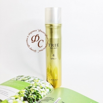 Спрей-блеск средней фиксации - TRIE Juicy Spray